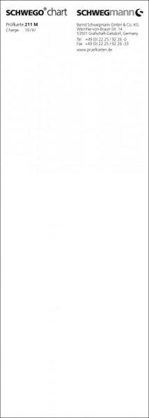 SCHWEGO chart 211 M